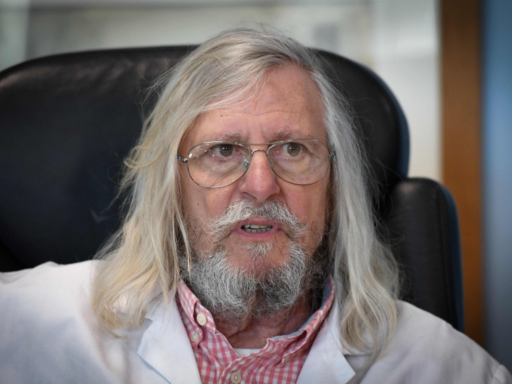 Didier Raoult publie une nouvelle étude sur l'efficacité de la chloroquine