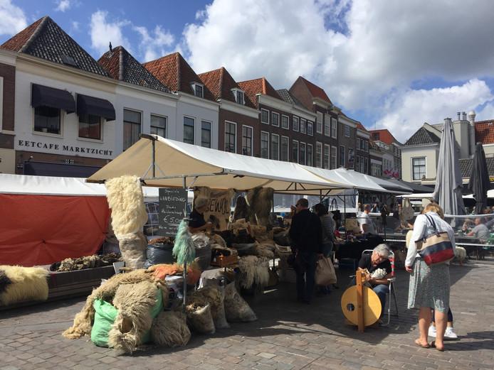 Handwerkmarkt op het Havenplein