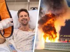 """Nouvelles rassurantes pour Grosjean: """"Le traitement de ses brûlures se passe bien"""""""