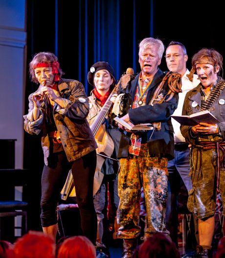 Zingend ten strijde in Vive le Geus
