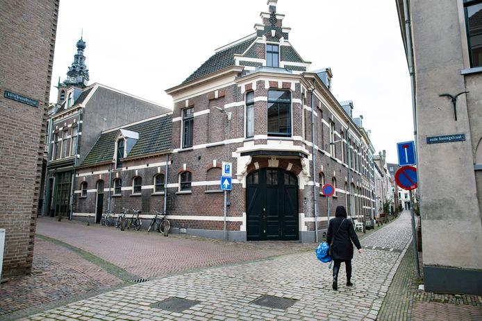 De Begijnenstraat in de Benedenstad.