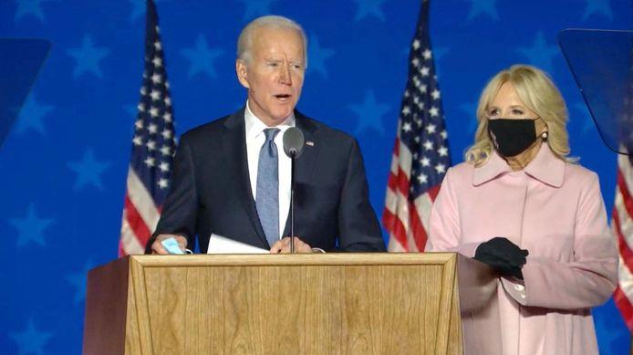 Joe Biden en Jill Biden