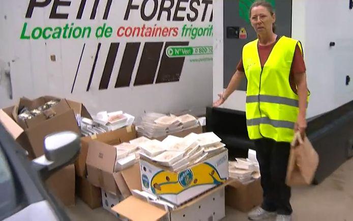 Sofie, bénévole de l'organisation humanitaire Belgium Aid.