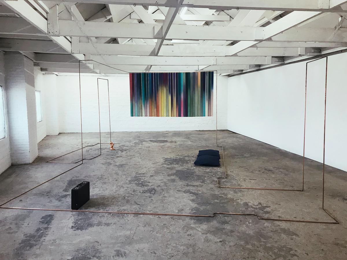 'Elisa Pinto - Bedroom, installatie, 2021'