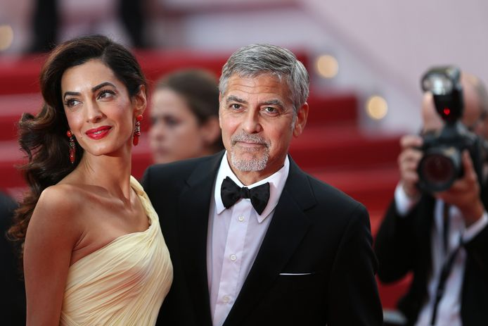 George en Amal Clooney.