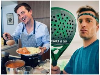 SHOWBITS. Niels Destadsbader kan blijkbaar koken en Sam De Bruyn verliest nooit nog een padelmatch