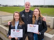 Gouden Sport Ster Lingewaard 2019 voor Noëlle Kieft en Larissa Vermeul