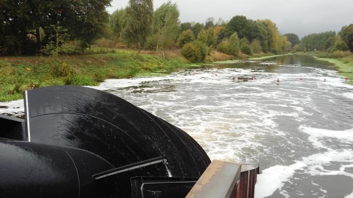 De waterkrachtcentrale in de Dommel is een voorbeeld van een burgerinitiatief in de gemeente Sint-Michielsgestel.