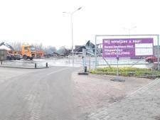 'Sloop' van afgebrande Karwei in Apeldoorn in volle gang