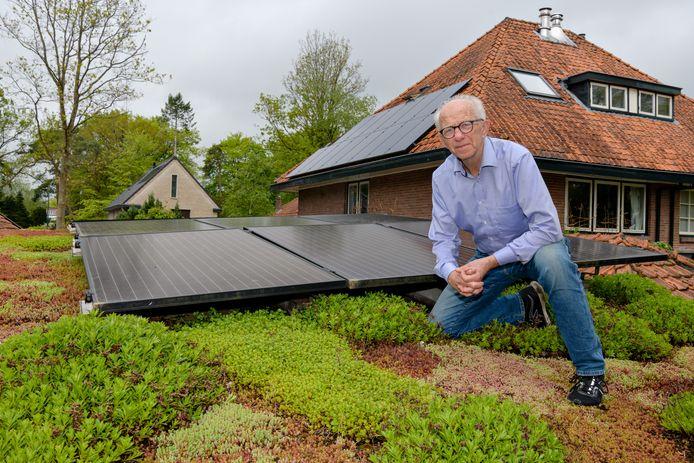 Bouwe Taverne uit Bilthoven zet zich in voor het andere energiegeluid. Hij is bestuurslid opwek van BENG!, dat staat voor 'Biltse Energieneutrale Gemeenschap'.