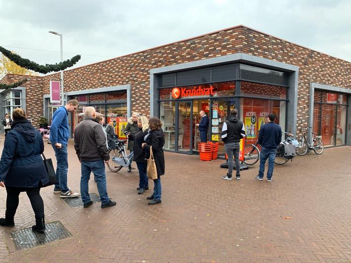 Het Kruidvat in de wijk Keizerslanden werd vanmiddag overvallen.