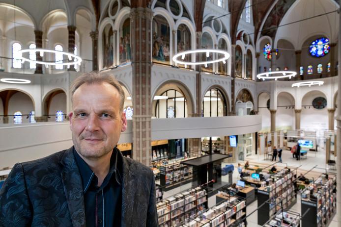 Architect Steven Woudstra uit Schijndel heeft iets met herbestemmen van monumentaal erfgoed en noemt de DePetrus in Vught een bron van inspiratie.