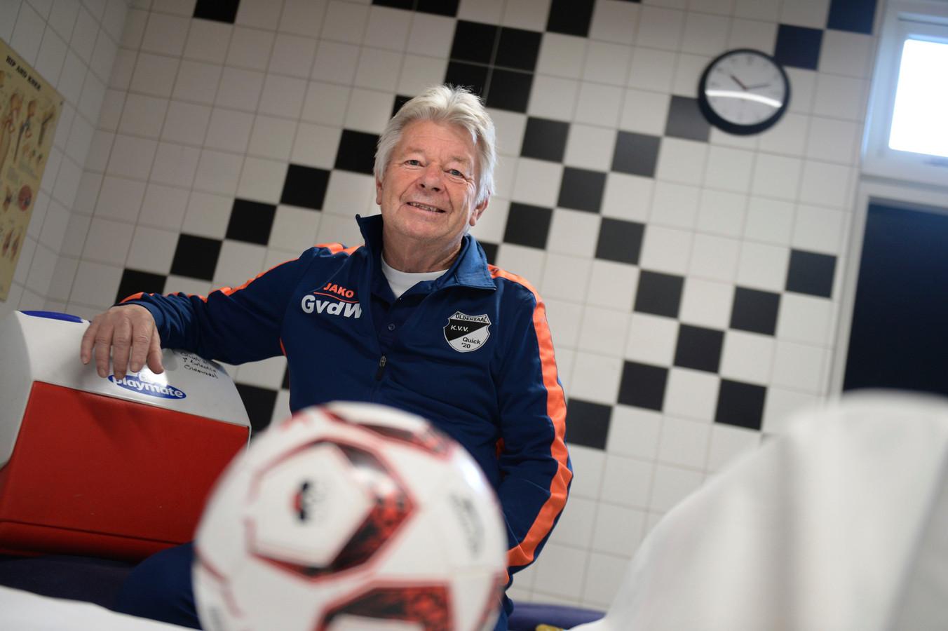 Gerard van de Weer was jarenlang verzorger bij het eerste elftal van Quick'20
