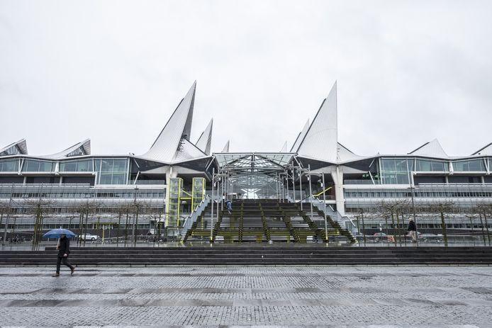 Het gerechtsgebouw in Antwerpen.