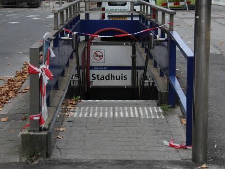 Metrostation Stadhuis tenminste 48 uur afgesloten vanwege asbest