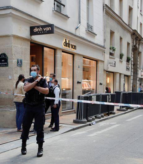 Opnieuw grote roof bij juwelier Parijs: 'Overvallers lijken geïnspireerd door diefstal van dagen geleden'
