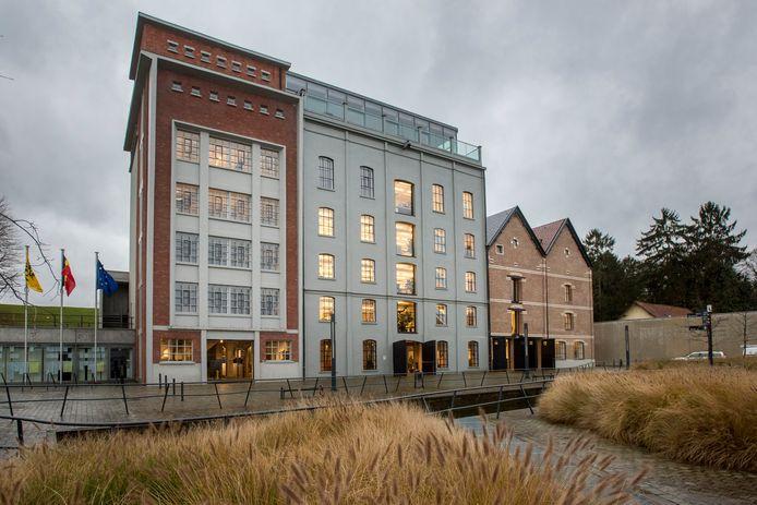 Het gemeentehuis van Overijse.