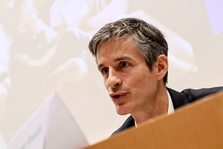Proximus-CEO Guillaume Boutin. Beeld Photo News