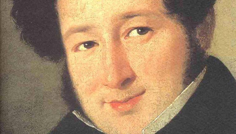 Operalegende Giachino Rossini. Beeld