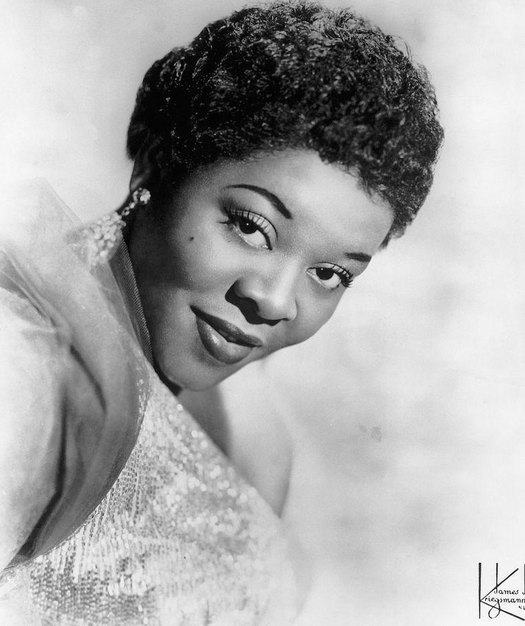 Dinah Washington in de jaren vijftig. Beeld Bettmann Archive