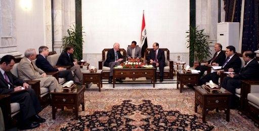 Une délégation américaine rencontre le Premier ministre irakien