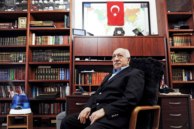 Fethullah Gülen in 2014. Beeld epa