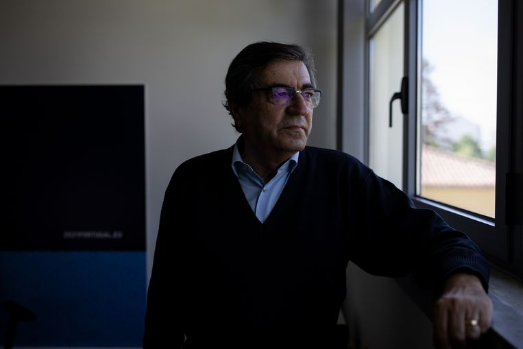 João Goulão (68) ontwierp het Portugese drugsbeleid, dat na twintig jaar nog steeds overeind staat. Beeld Gonçalo Fonseca