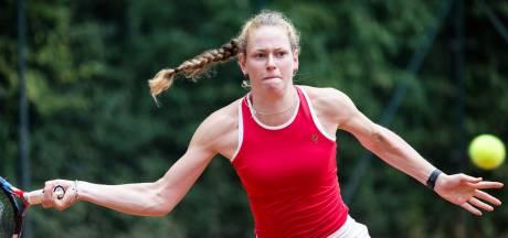 Stephanie Visscher werkt toe naar NK tennis