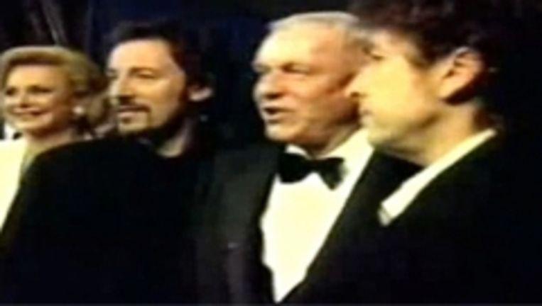 'Frank Sinatra zei me: 'Jij en ik hebben blauwe ogen, vriend, we komen van ergens daarboven. De rest van de schooiers hier zijn van beneden''   Beeld