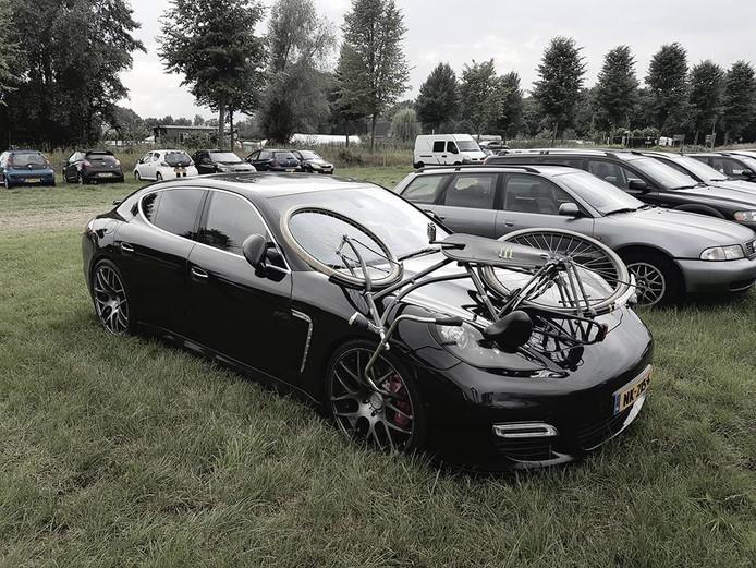 Zo trof Jeroen Gebbing vorig jaar zijn auto aan op de parkeerplaats.