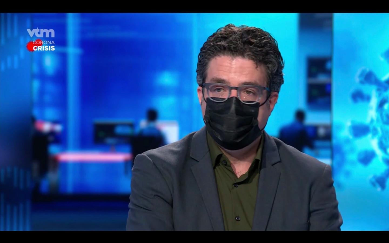 Sciensano-viroloog Steven Van Gucht.