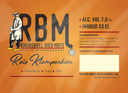Roîs Klompenbier. 7% Streekbier met uitgebalanceerde mix van hop- en moutsoorten, waaronder roggemout