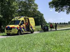 Wielrenster naar ziekenhuis na botsing met rolschaatsster bij Laag-Keppel