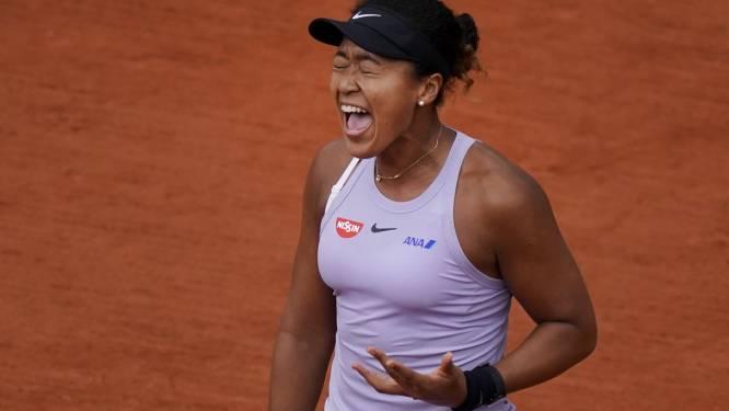US Open-winnares Osaka meldt zich met hamstringblessure af voor Roland Garros