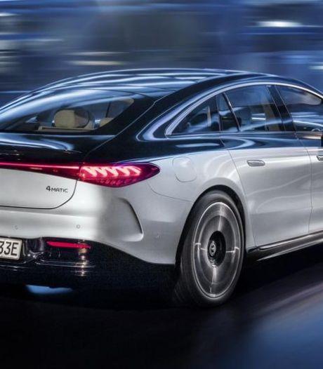 Eerste elektrische topklasse-sedan komt net zo ver als een diesel: dit is de Mercedes EQS