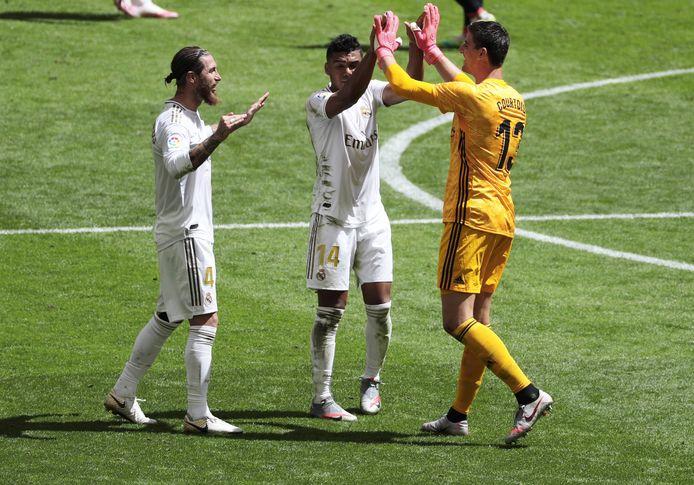 Thibaut Courtois est en train d'écrire l'histoire entre les perches du Real Madrid.