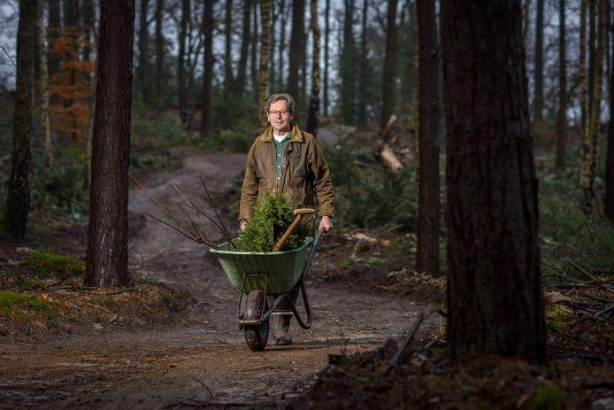 Herman Hulshof heeft nog genoeg werk te verzetten op zijn kersverse landgoed Hessenveld in Lochem.