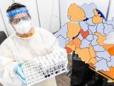 KAART   Steeds minder positieve tests in gemeenten, maar nog wel veel in Oldebroek en Putten