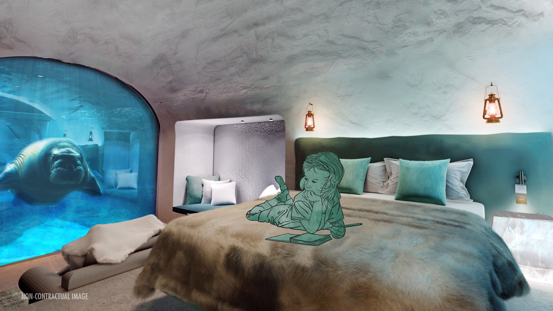 Dierenpark Pairi Daiza pakt uit met de eerste simulaties van haar nieuwe verblijf in The Land of the Cold.  Beeld Pairi Daiza