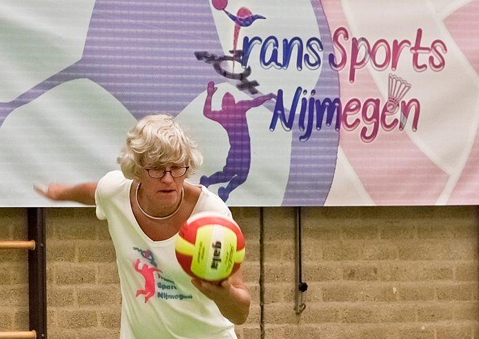 De transgendergroep gaat allerlei sportavonden organiseren in de sportzaal.
