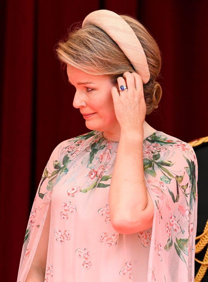 La reine Mathilde.