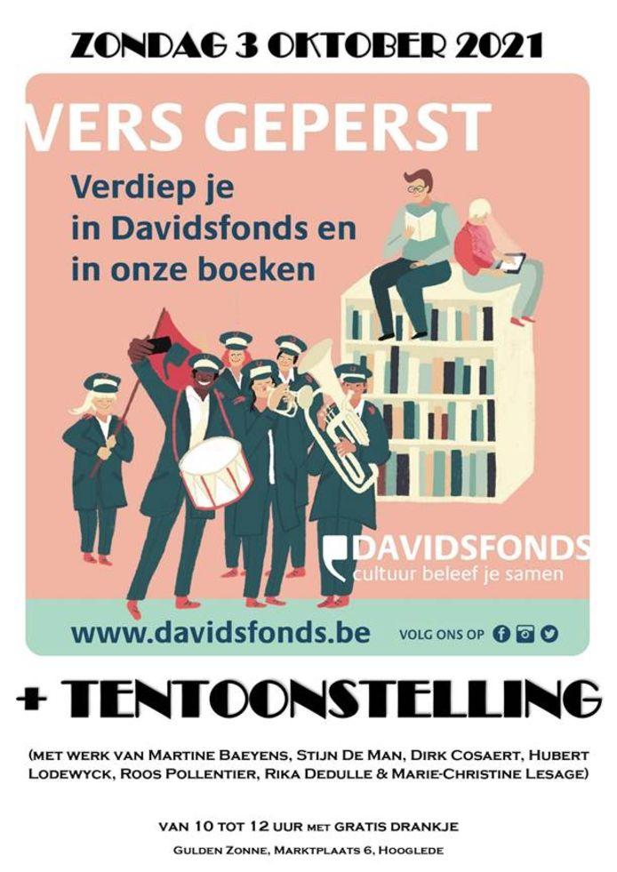De affiche van Vers Geperst