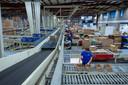 Het distributiecentrum van Fabory Group op bedrijventerrein Kraaiven.