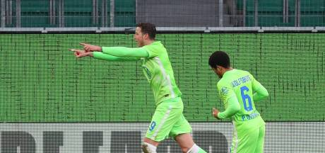 Weghorst houdt Leipzig van zege met goal in jubileumduel