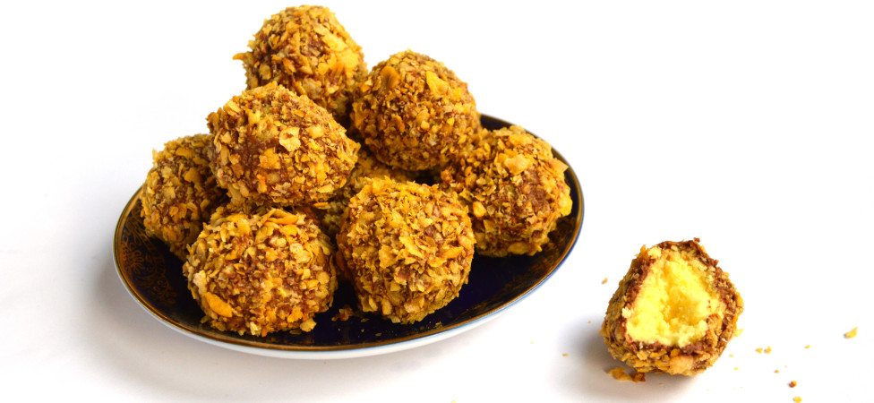 Marokkaanse maizenakoekjes (met chocola en cornflakes)