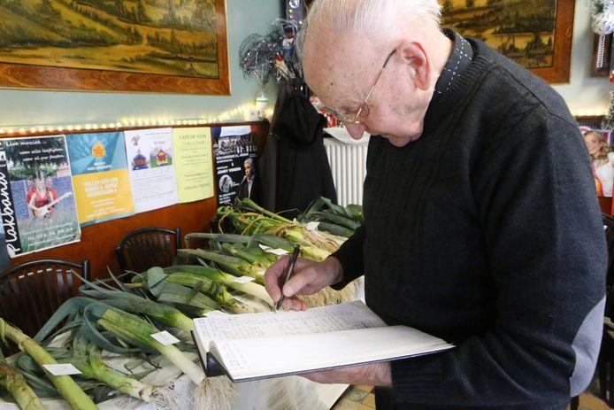 Maurice kon voor het eerst in 31 jaar de verkiezing van de grootste prei niet organiseren.