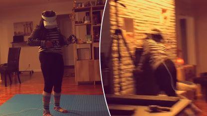 VIDEO. Meisje knalt keihard tegen muur als ze bij spelen VR-spel op vlucht slaat voor virtuele granaat