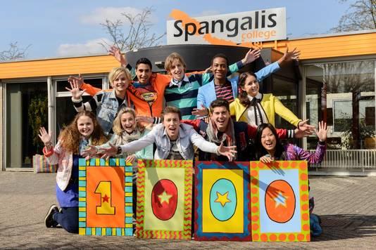De serie Spangas weet jongeren online wel te binden