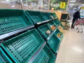 Een maand na de brexit: schappen blijven leeg, versproducten rotten weg door bureaucratie