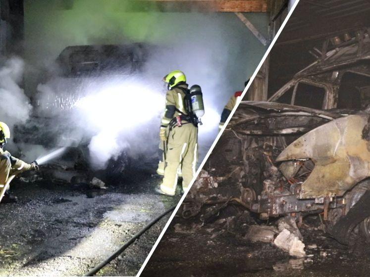 IJscowagen uitgebrand in Naaldwijk